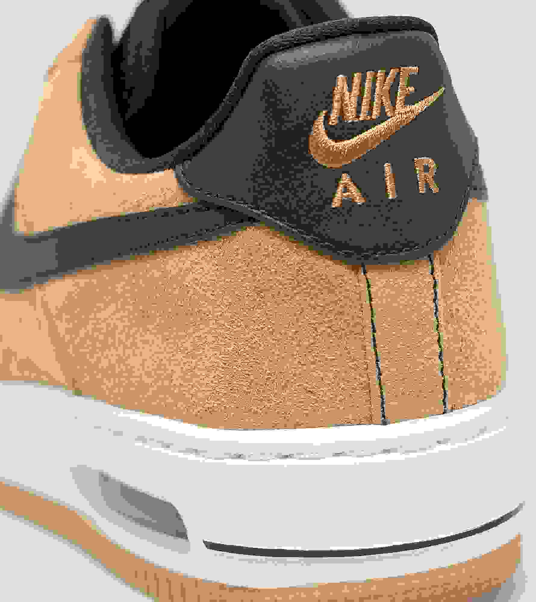 nike air force size smaller