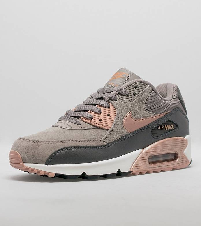 buy nike air max 90 premium grey suede be44e 0ee41