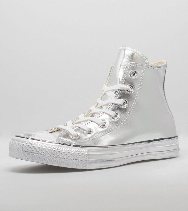 91a204bf031d Converse All Star Hi  Chrome Silver  Women s