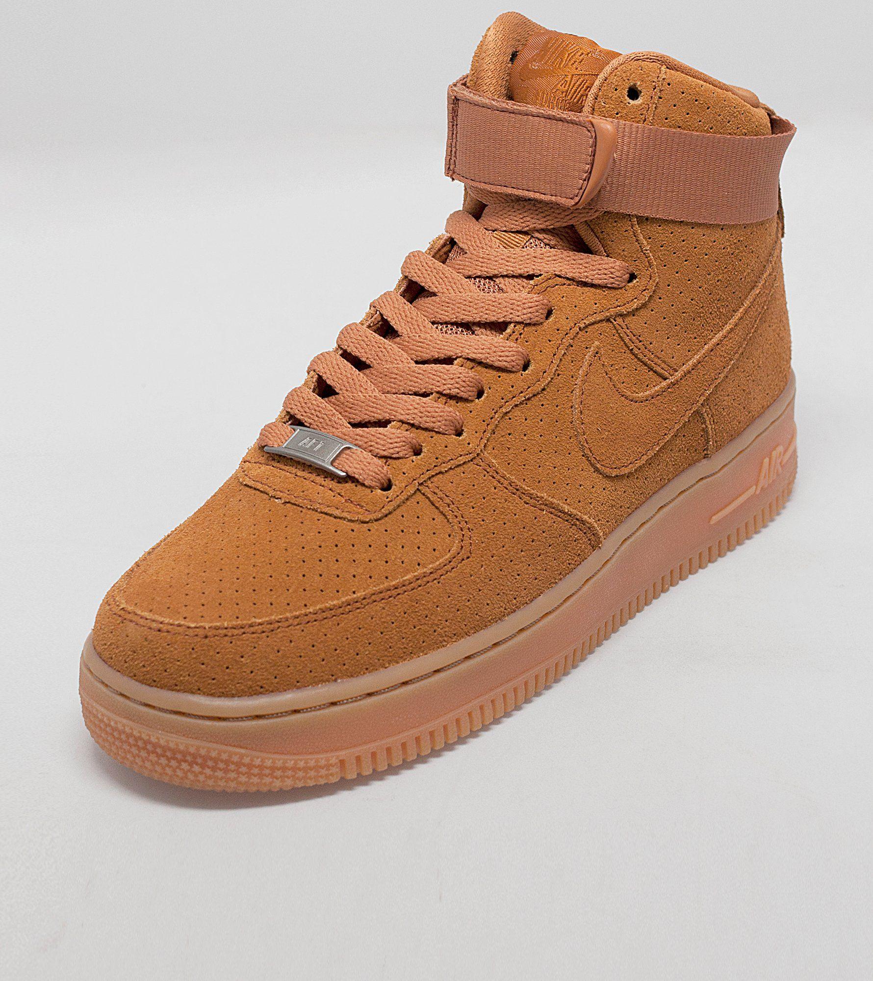 lsflj Nike Air Force 1 Hi Suede Women\'s  