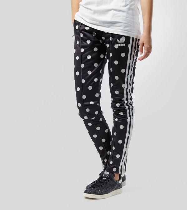 343f5948a69c adidas Originals Polka Dot Slim Superstar Track Pants