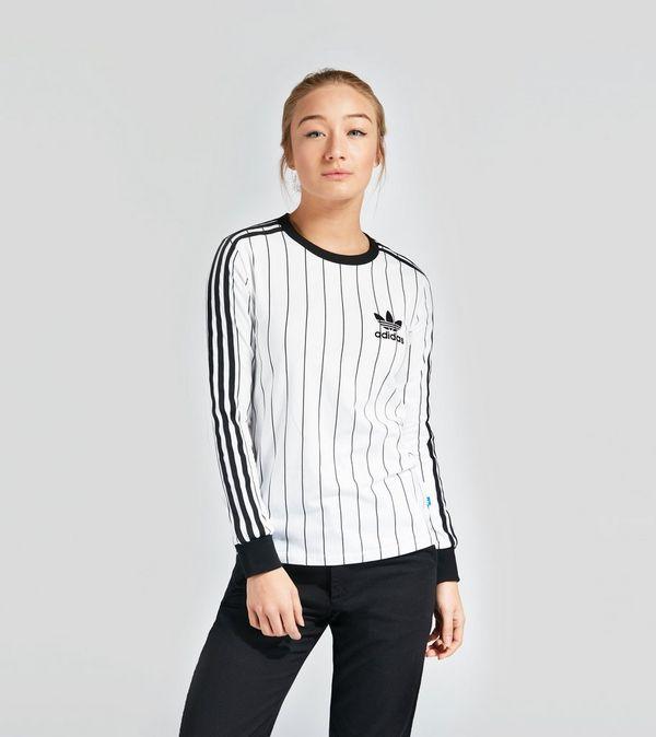 adidas originals 3 stripe t shirt