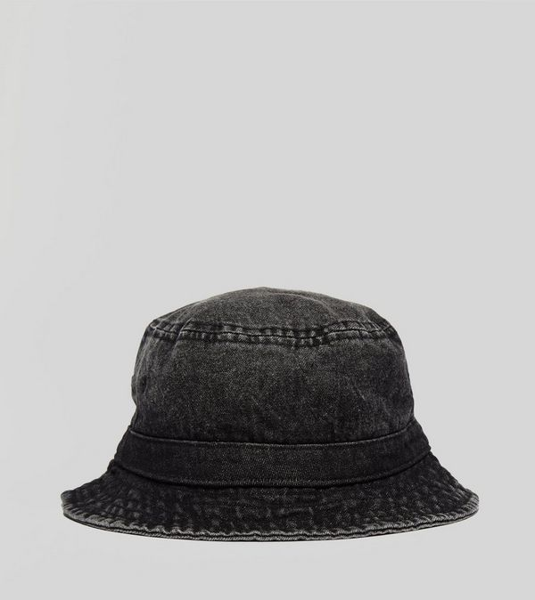 1eb1fb23fab Stussy Washed Denim Bucket Hat