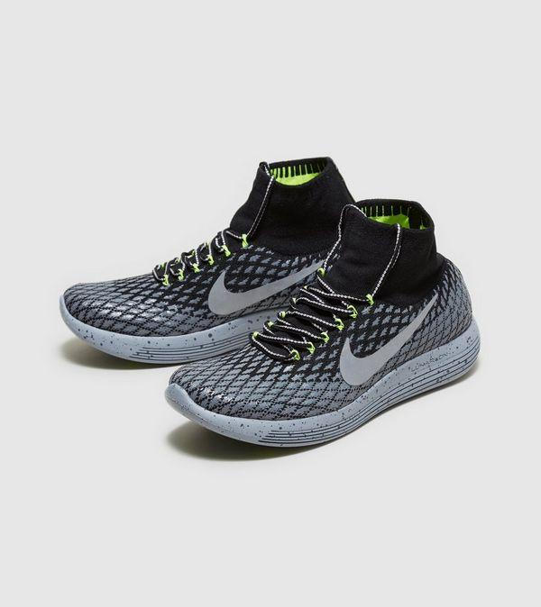 Nike LunarEpic Low Flyknit Men's Running Shoes Black/White