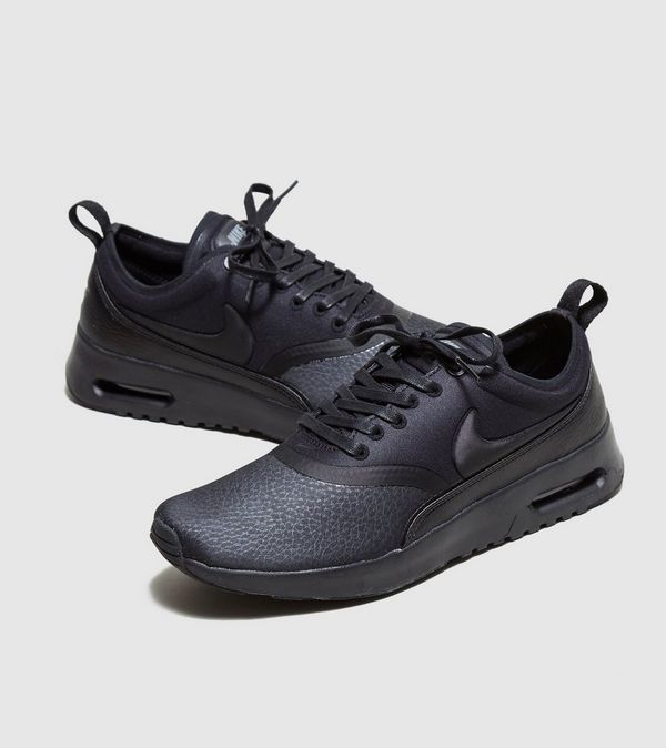nike air max thea premium women's black