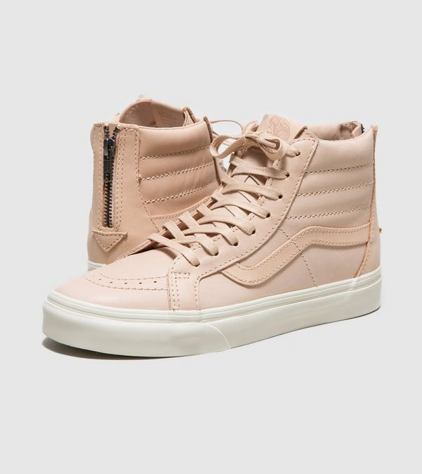 9e487b11d5 Vans Sk8-Hi Zip DX Veg Tan Leather Women s