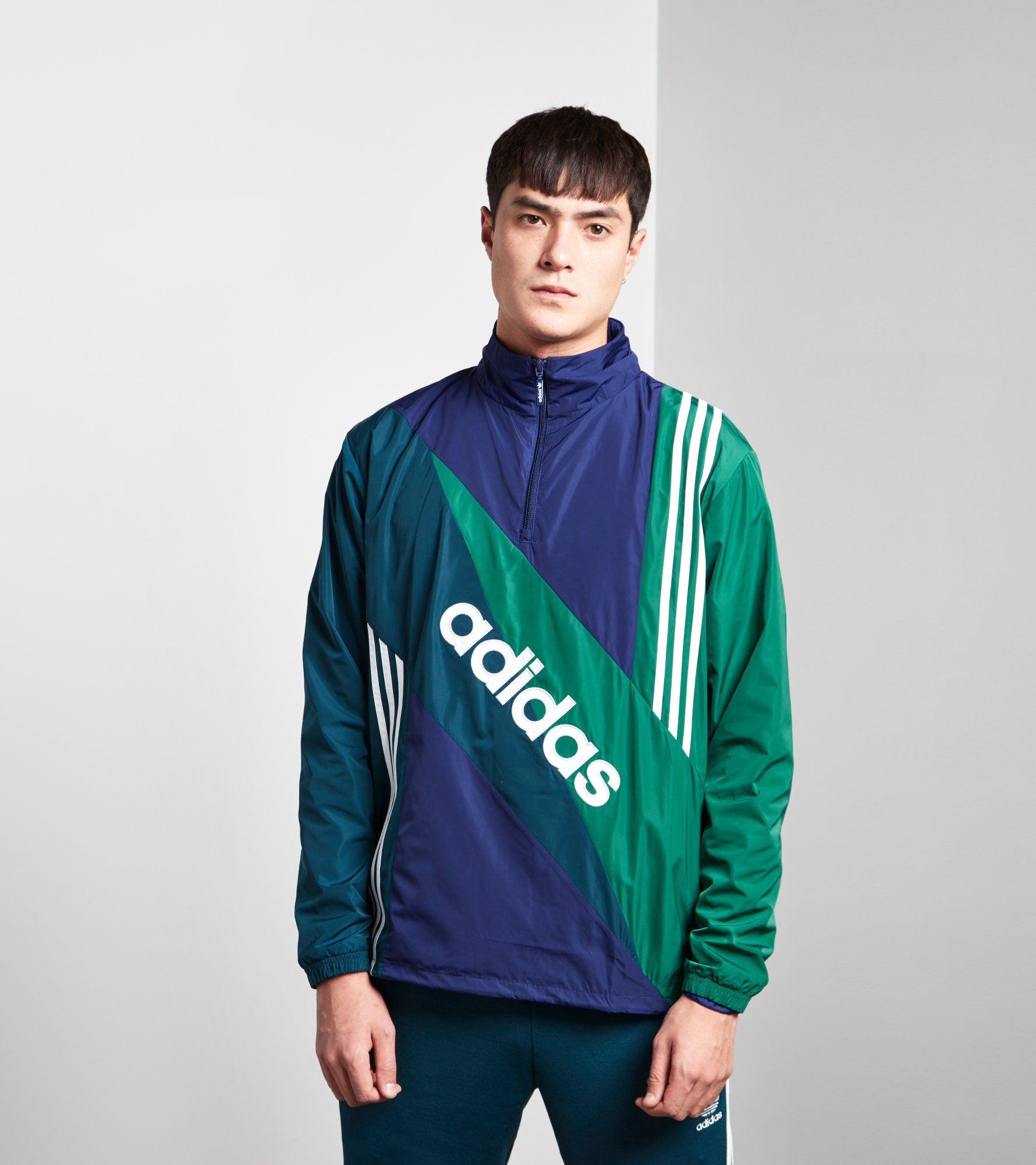 adidas Originals Linear Windbreaker Jacket - size? Exclusive | Size?