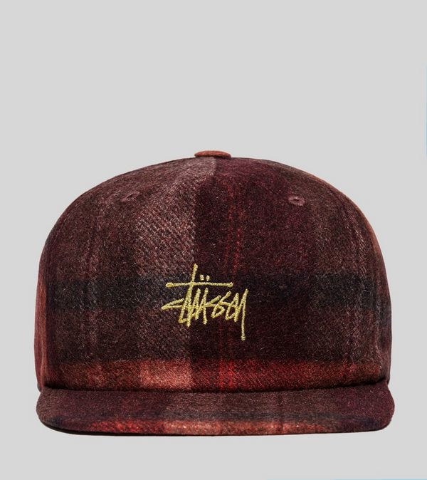 Stussy Smooth Wool Snapback Cap  53e3e7d6e55