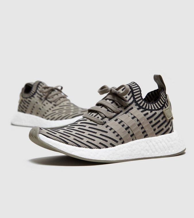 Nmd r2 pk primeknit olive uk9.5 Shoes for sale in Setapak, Kuala