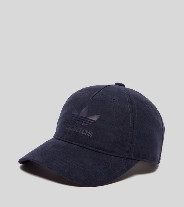 adidas Originals Trefoil Suede Strapback Cap  fa02c7ac310