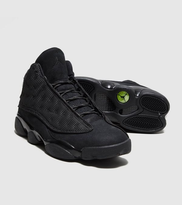 reputable site e8687 2aaa8 Jordans Retro 13 Black ukpinefurniture.co.uk