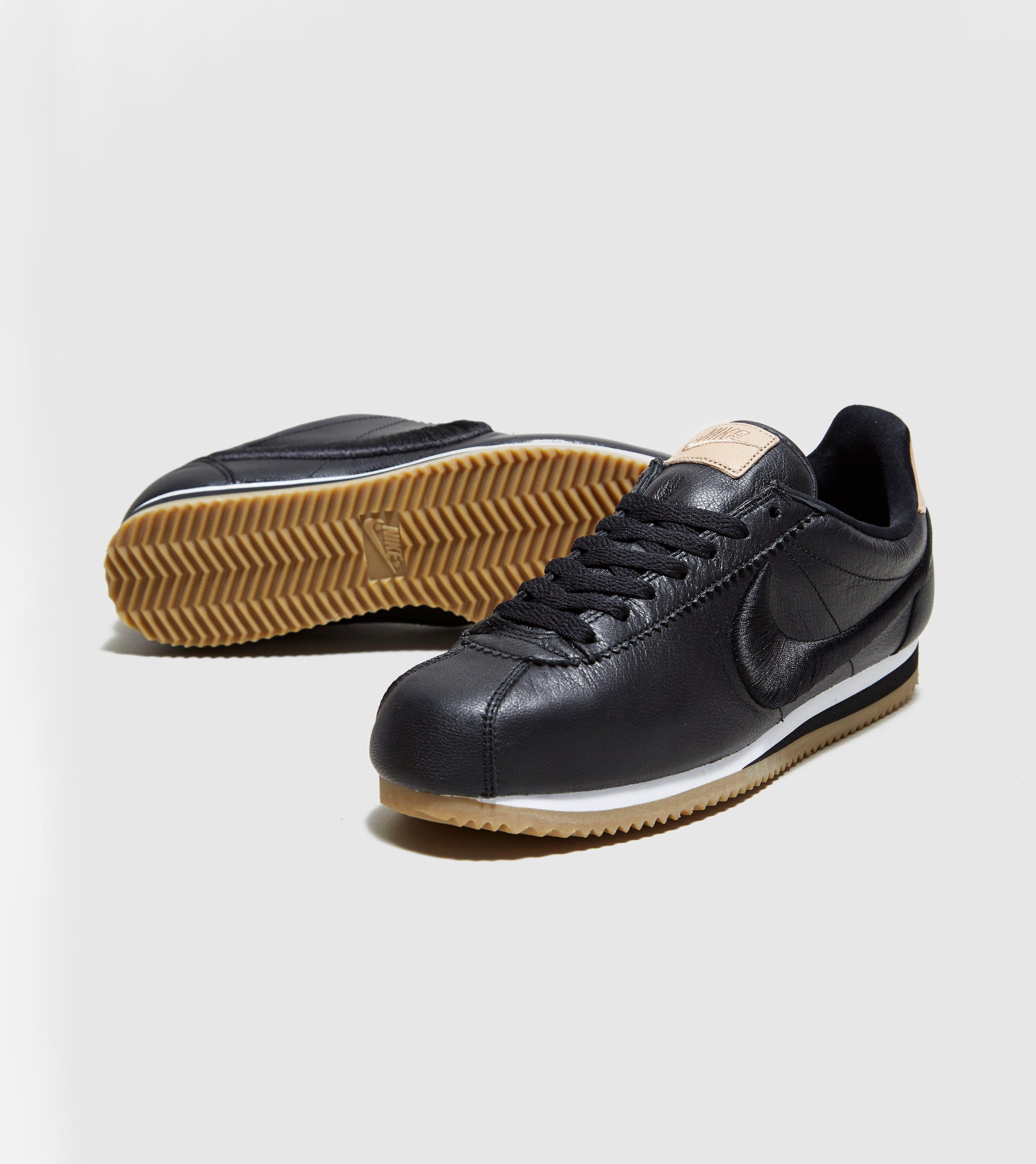 nike cortez premium leather