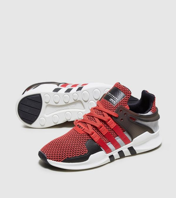 adidas EQT Support Adv White and Black Shoes at PacSun