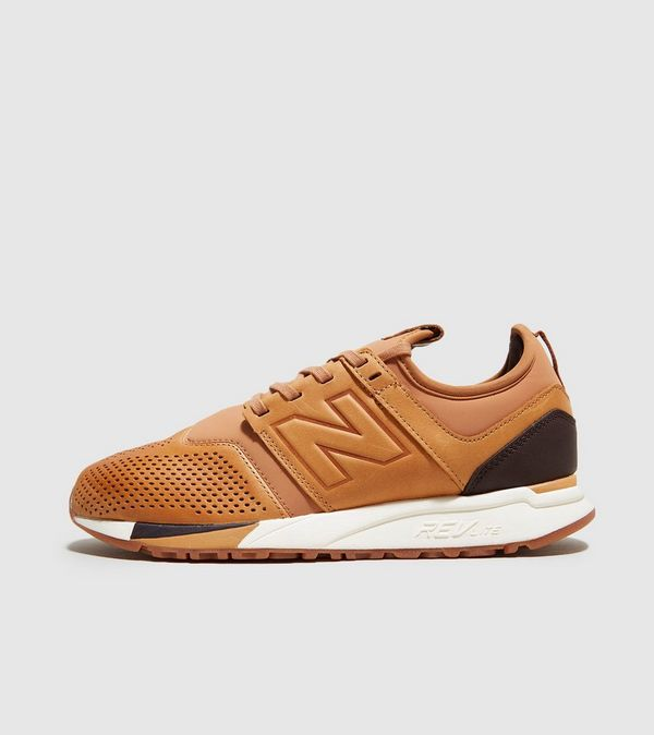 new balance 247 leather brown
