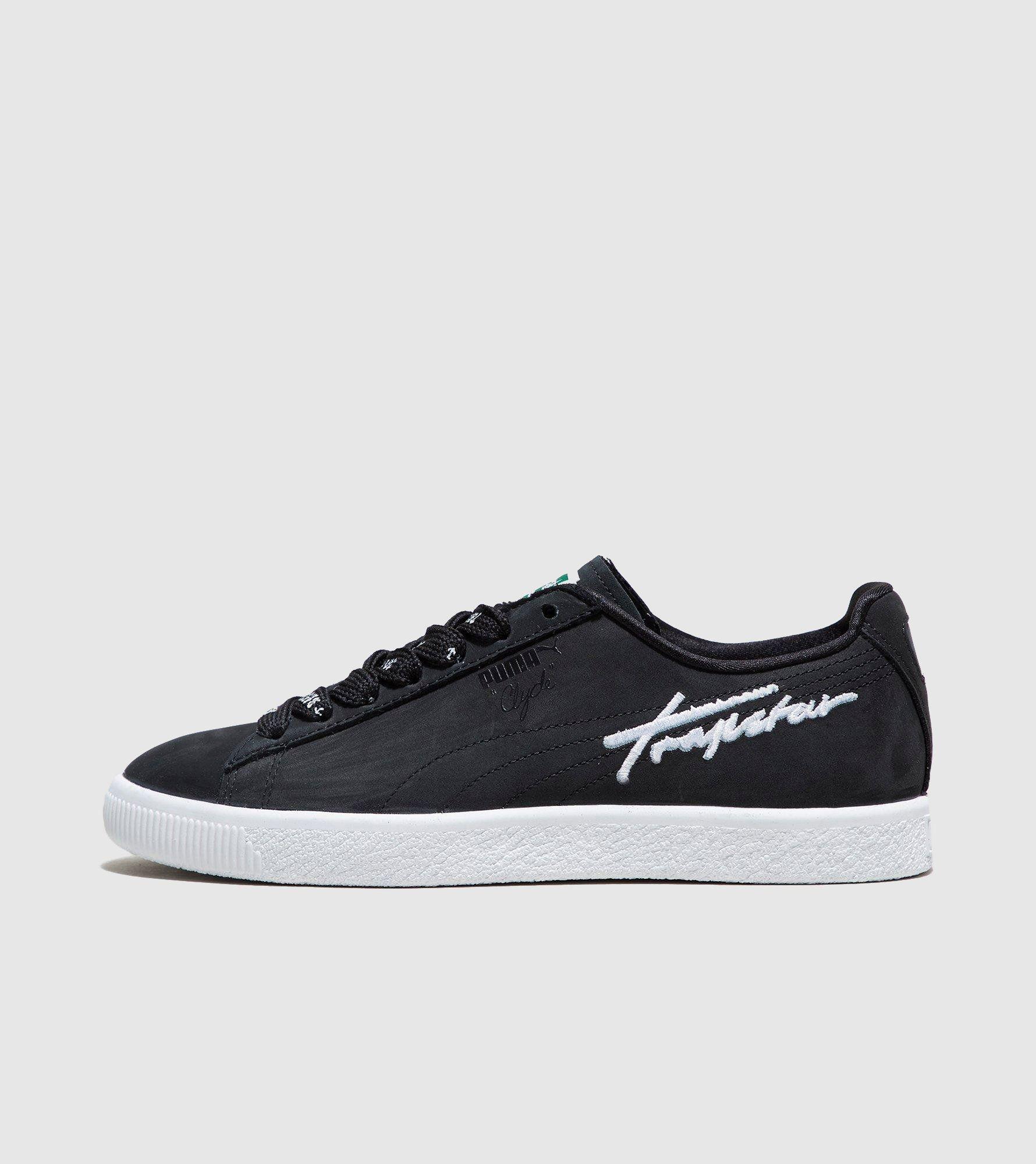 buy online d9fa8 20d9a ... puma trinomic flyknit black grey ...