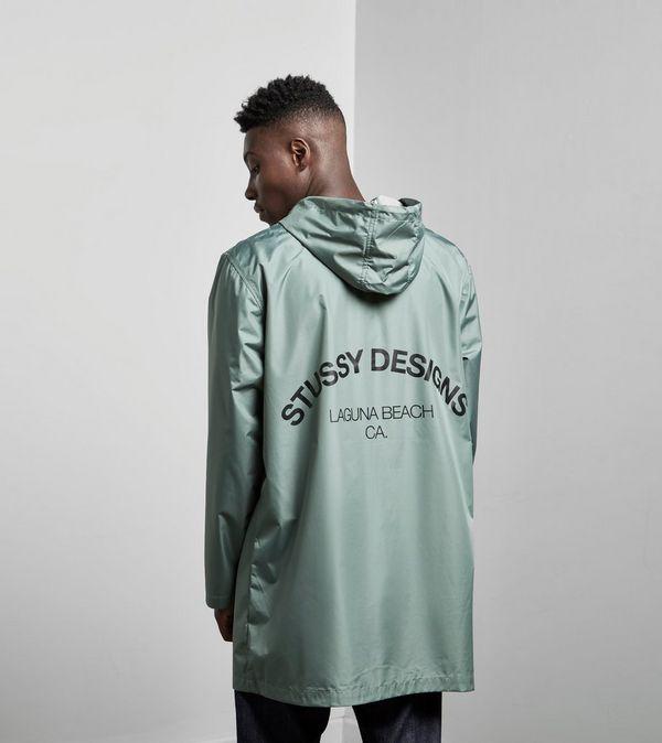 Stussy Long Hooded Coach Jacket