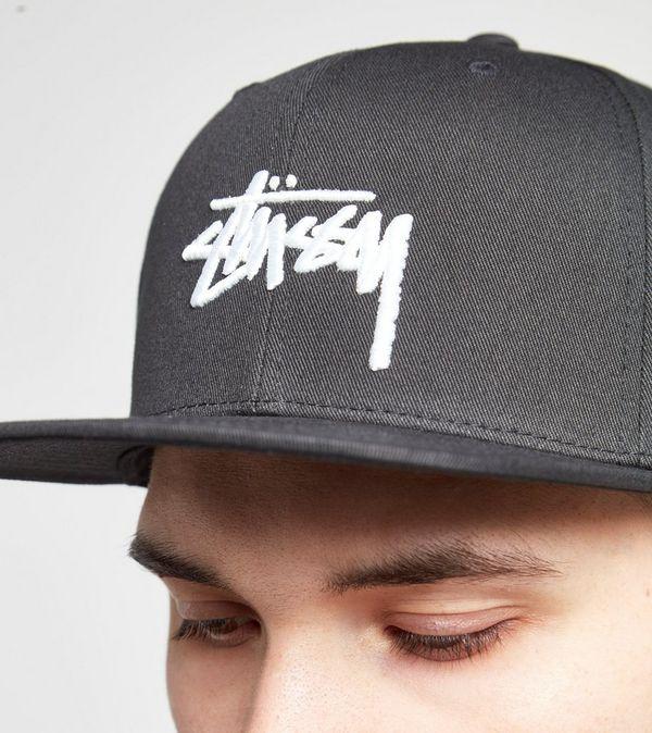 Stussy Stock Logo Snapback Cap  4a58978a621