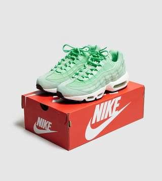 nike air max 95 premium womens green