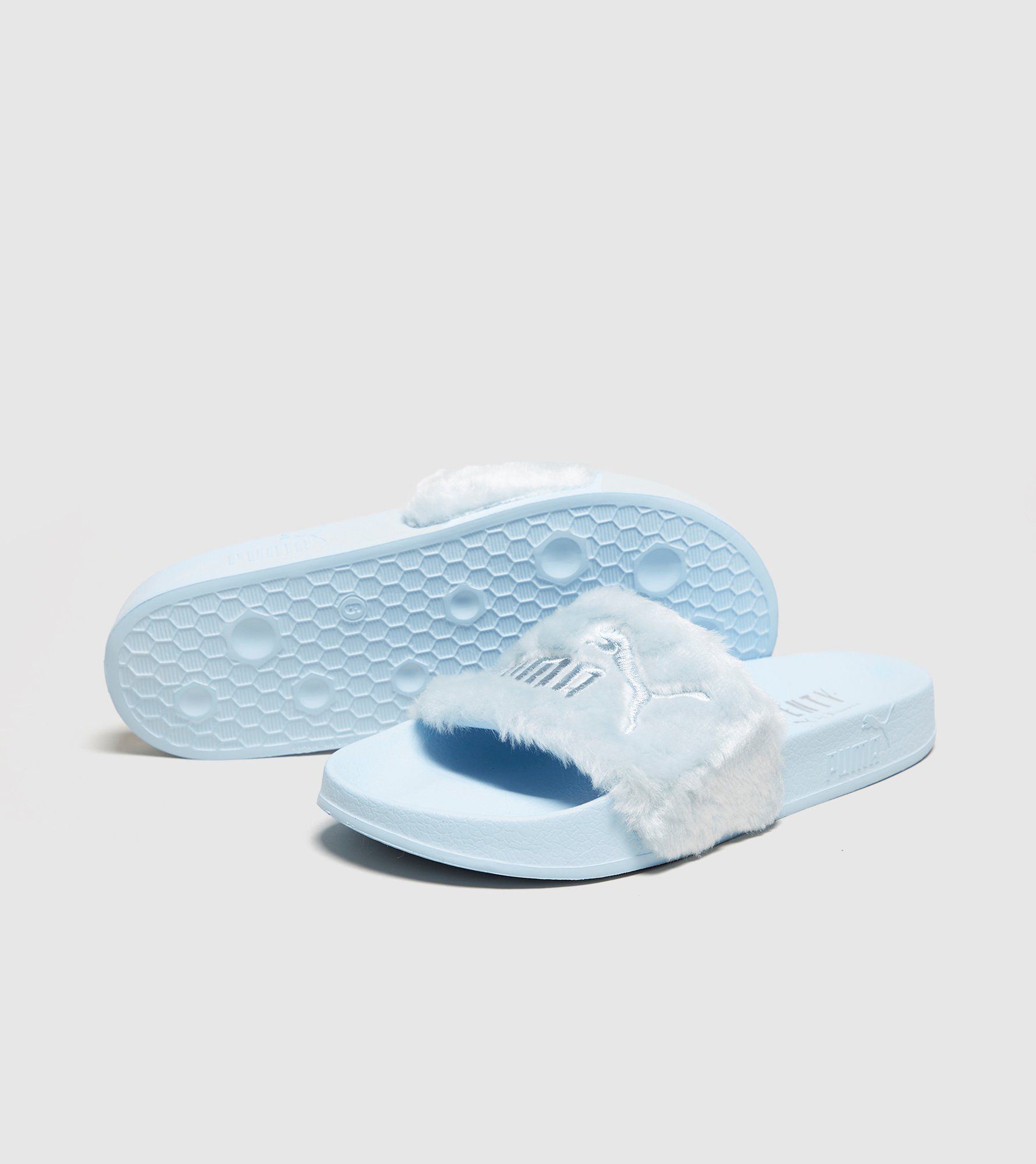 PUMA Fur Slides Women's