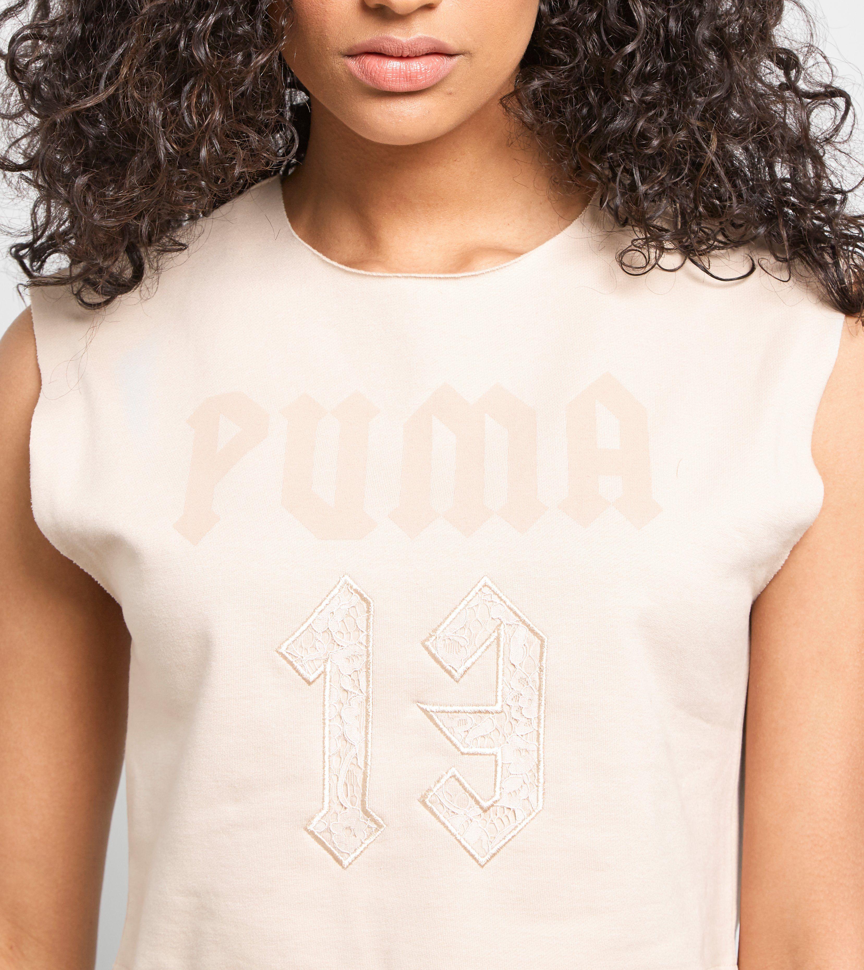 PUMA Fenty Sleeveless Crop Top