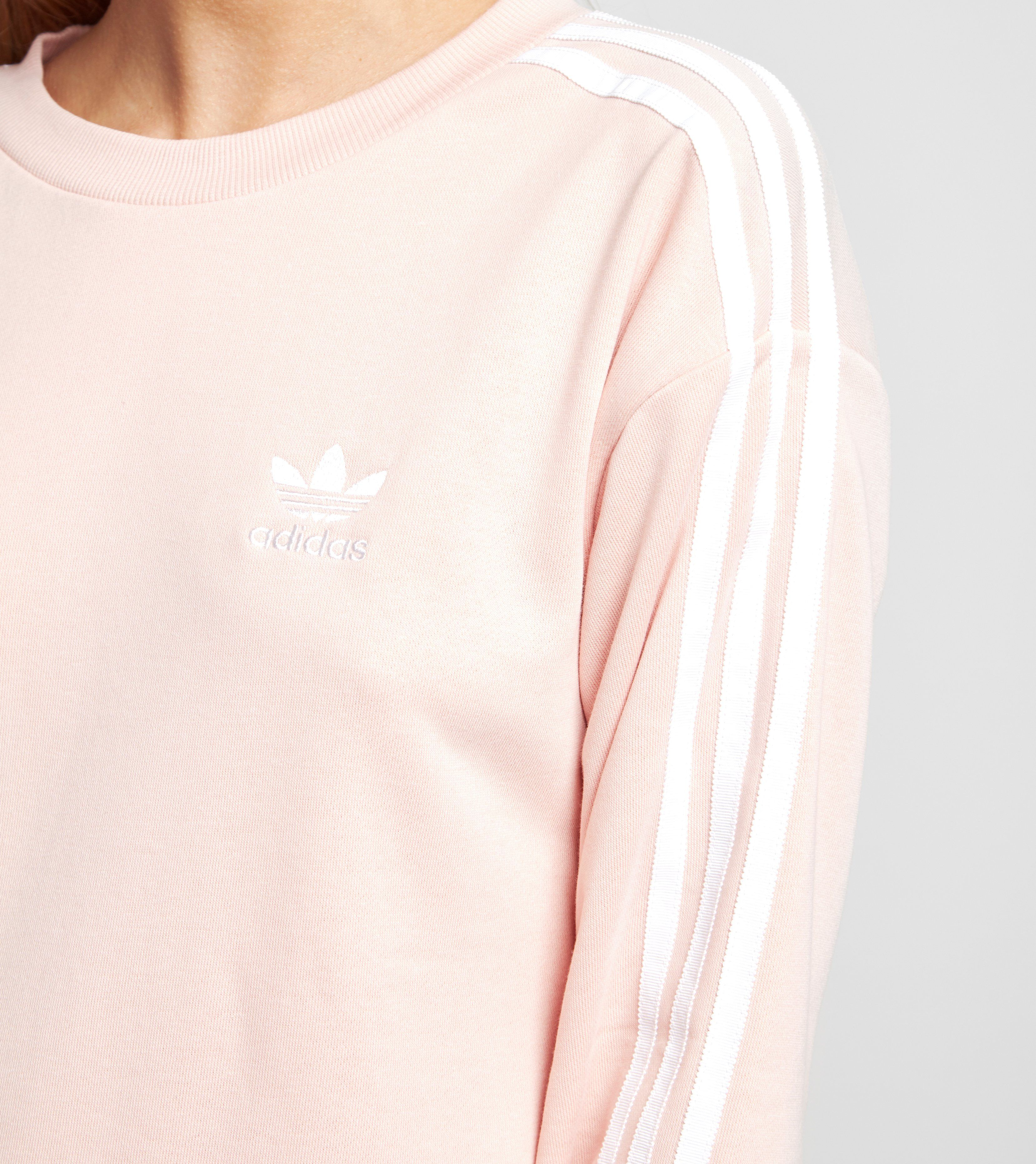 adidas Originals 3 Stripes A-Line Sweatshirt