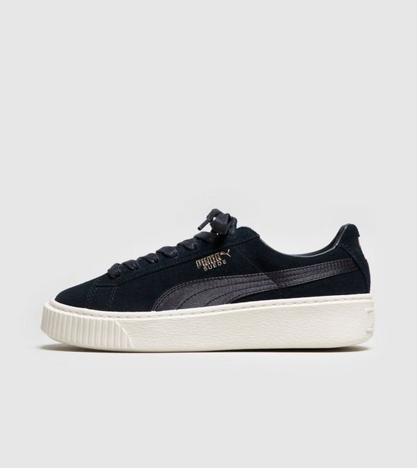 puma suede platform satin women 39 s size. Black Bedroom Furniture Sets. Home Design Ideas