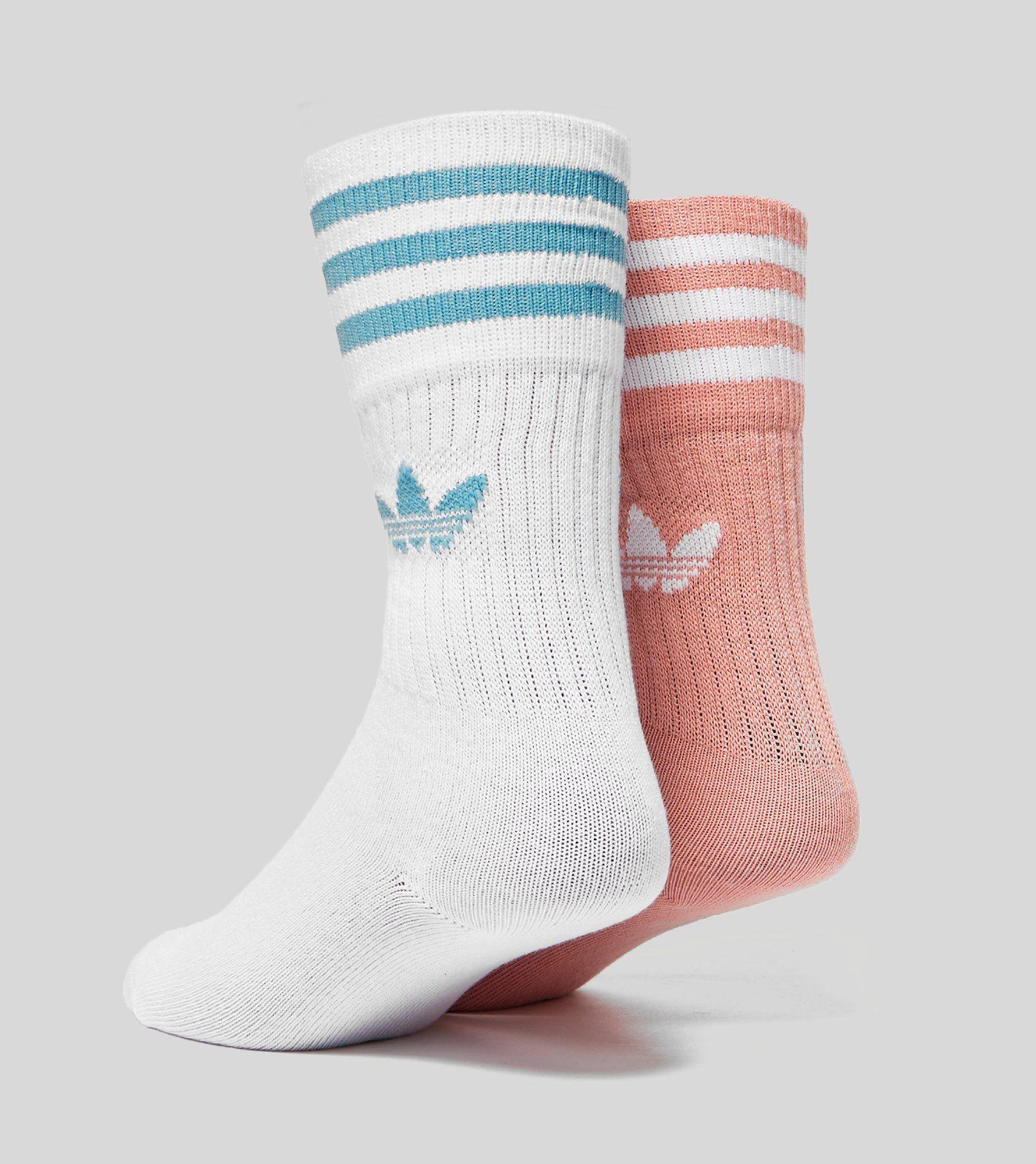 adidas Originals 2 Pack Trefoil Socks
