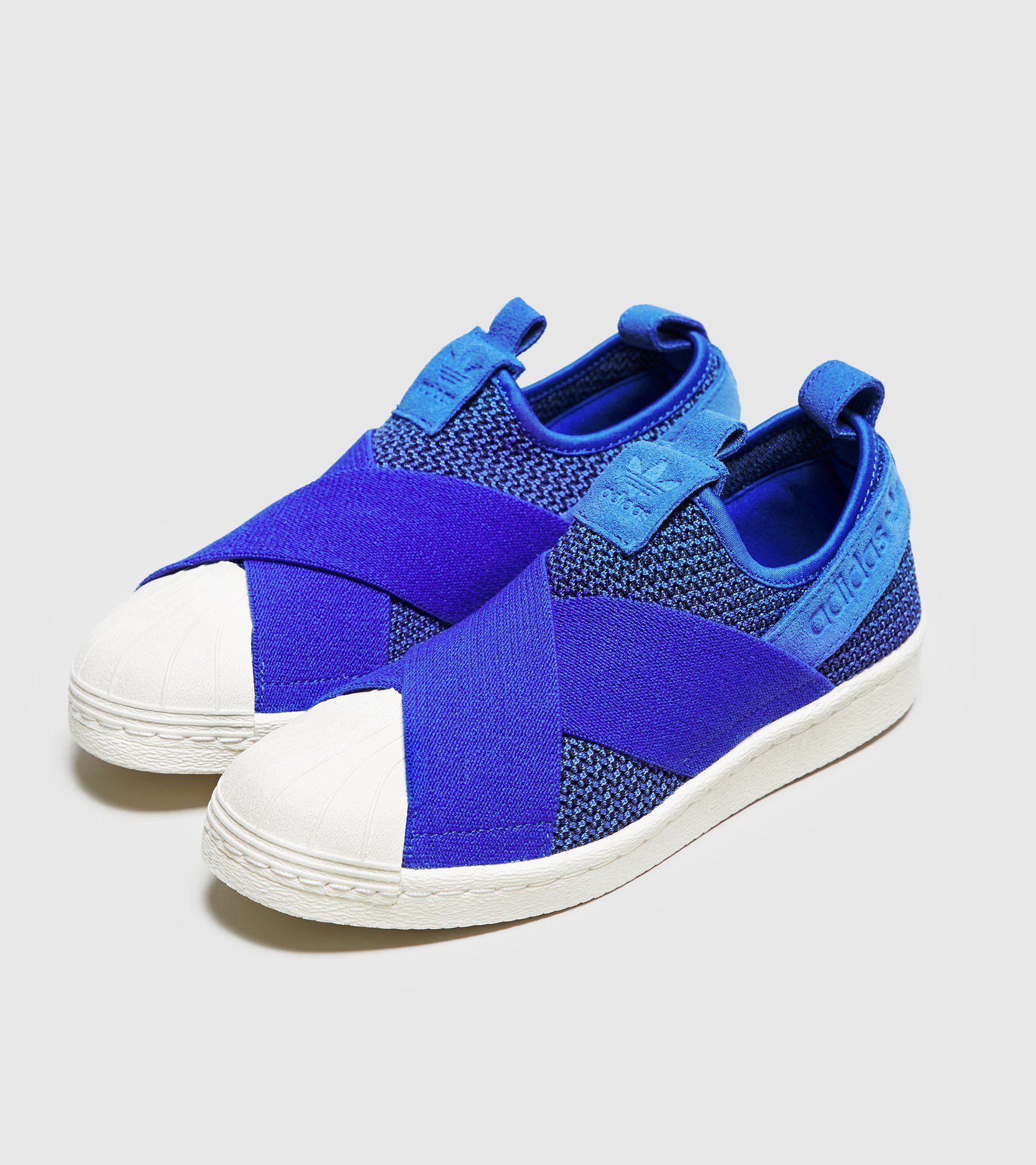 Adidas Superstar Slip On Aqua