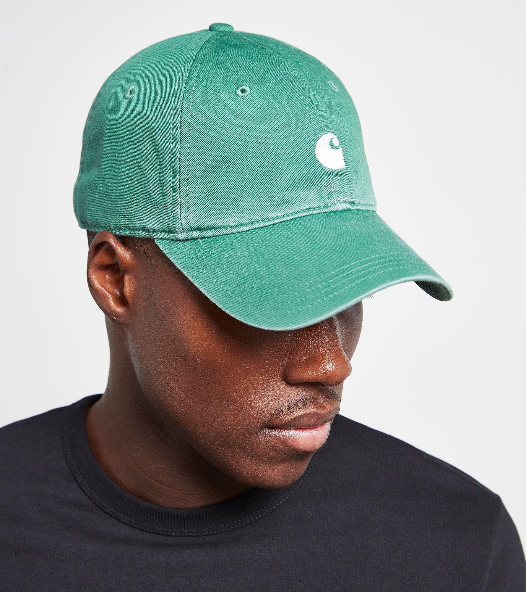 36bb8bc3b3aabe usa carhartt wip hats madison logo baseball cap teal from village hats.  ec560 7a0f7; usa carhartt wip major cap 07717 f116a