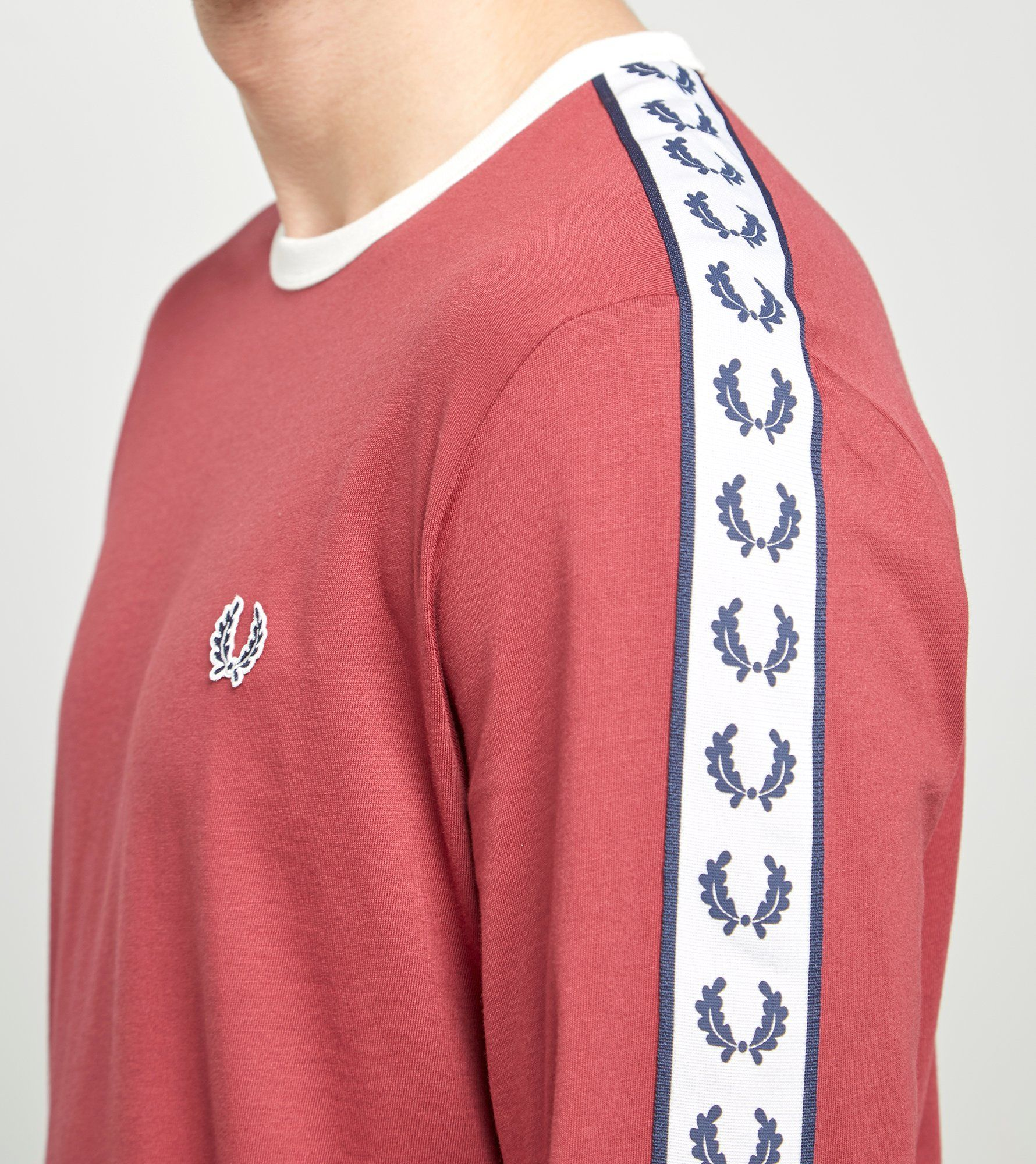 Fred Perry Long Sleeved Ringer T-Shirt