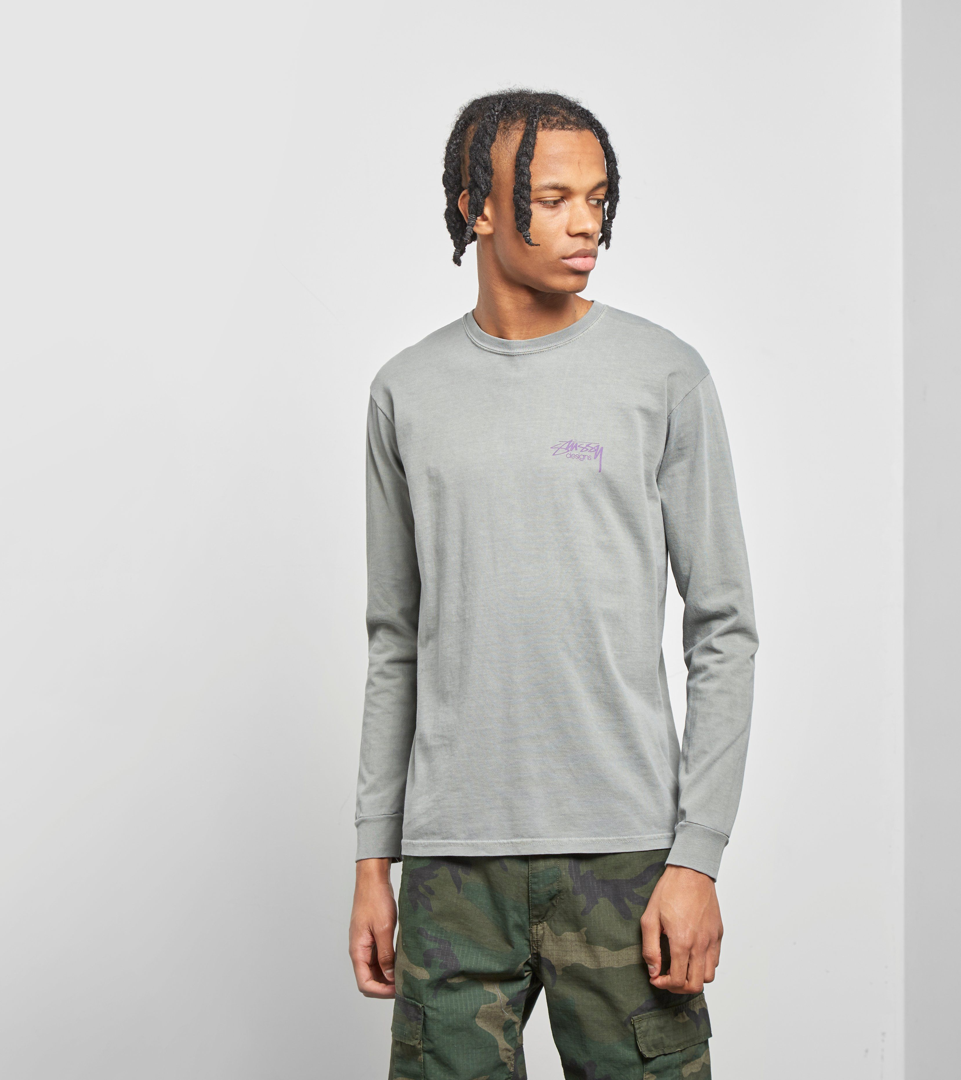 Stussy Long Sleeved Designs T-Shirt