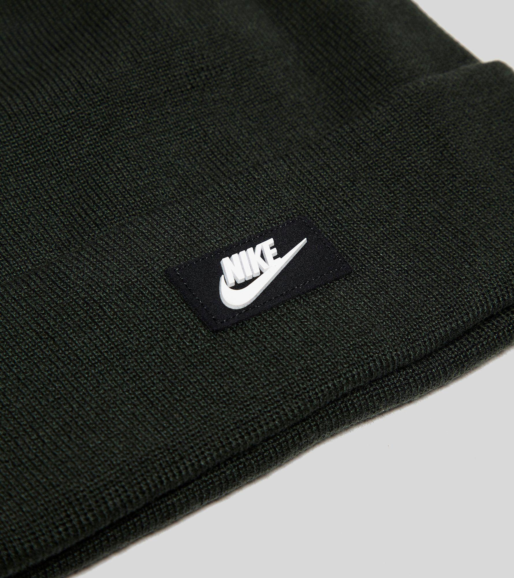 Nike Red Pom Beanie