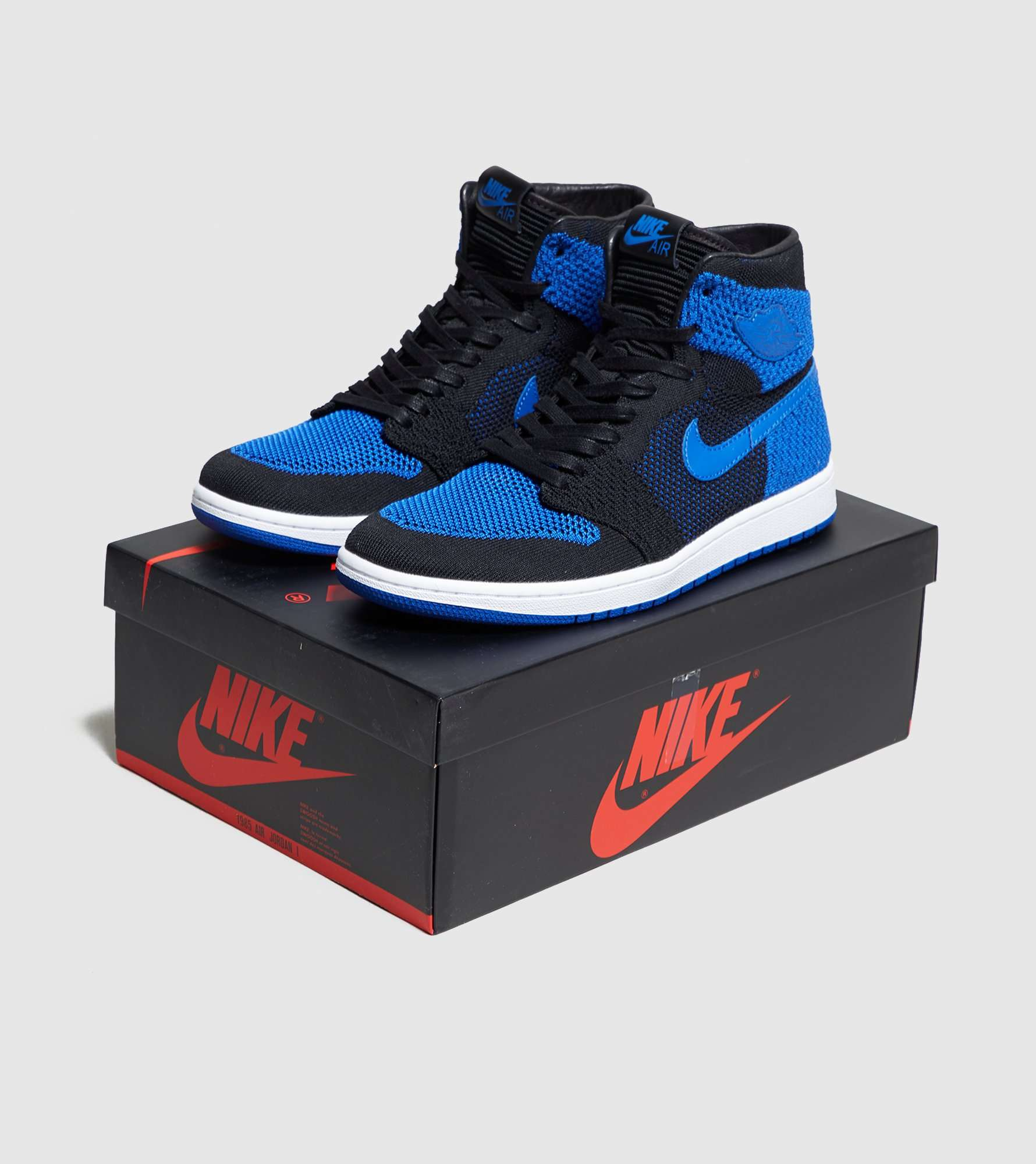 Jordan 1 Retro Flyknit 'Royal Blue'