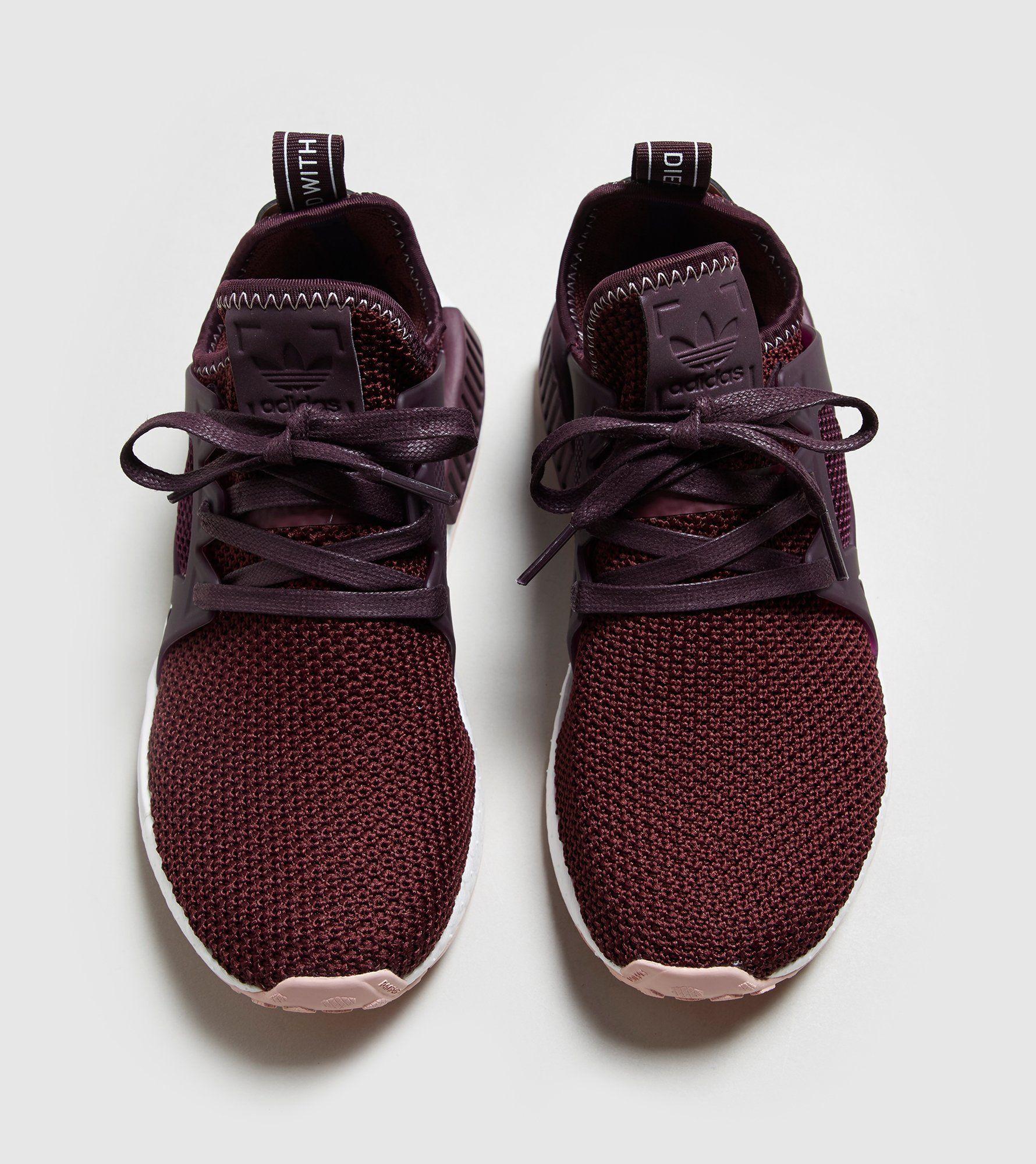 Adidas nmd rt primeknit donne bb2367 ghiaccio metà viola