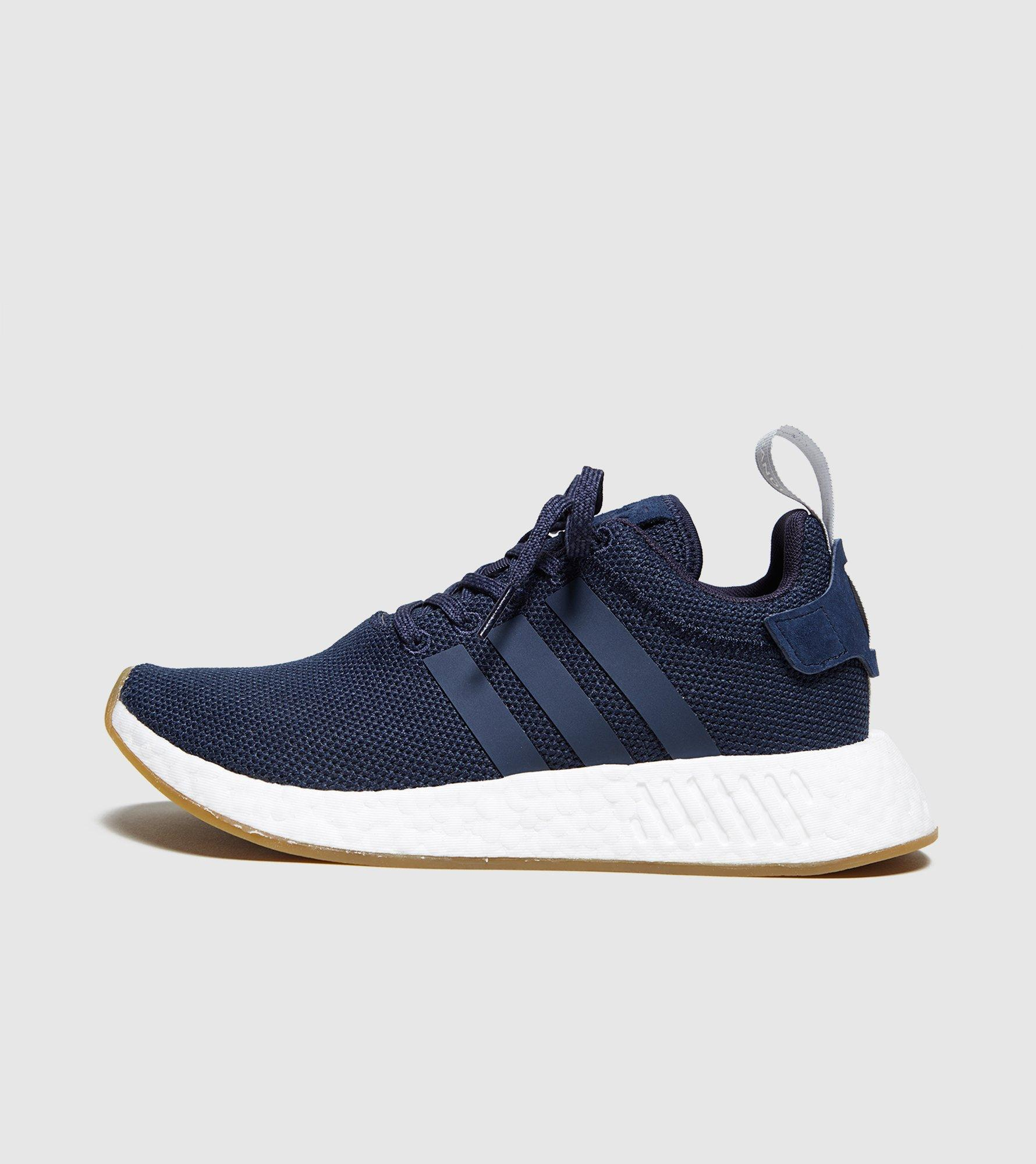 2d9e54734fe2e adidas nmd r2 white womens adidas gazelle 2 blue and red Equipped ...