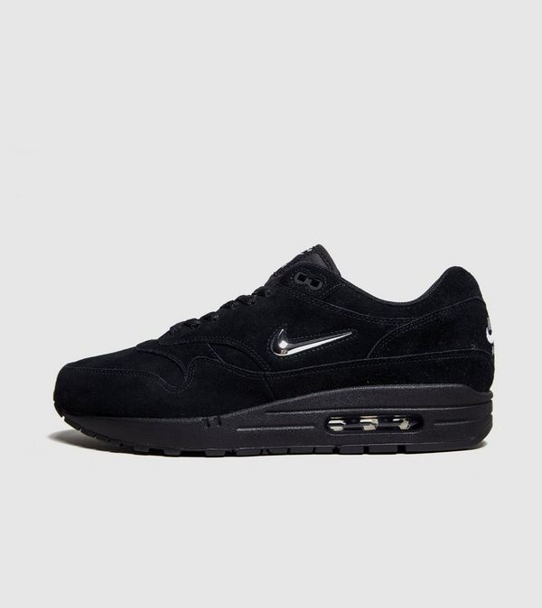 nike air max 1 jewel all black