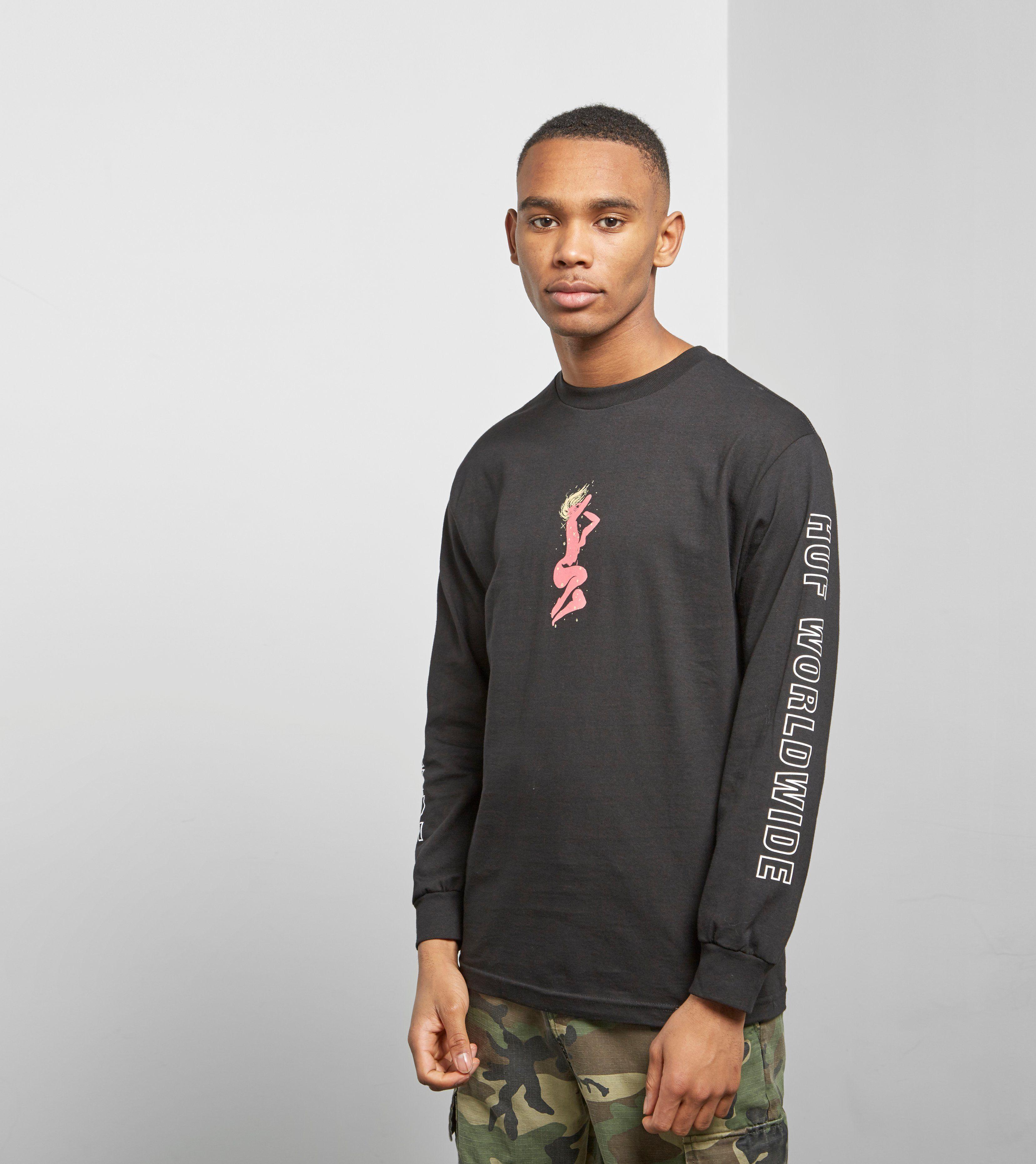 HUF Nebula Long Sleeved Long Sleeved T-shirt
