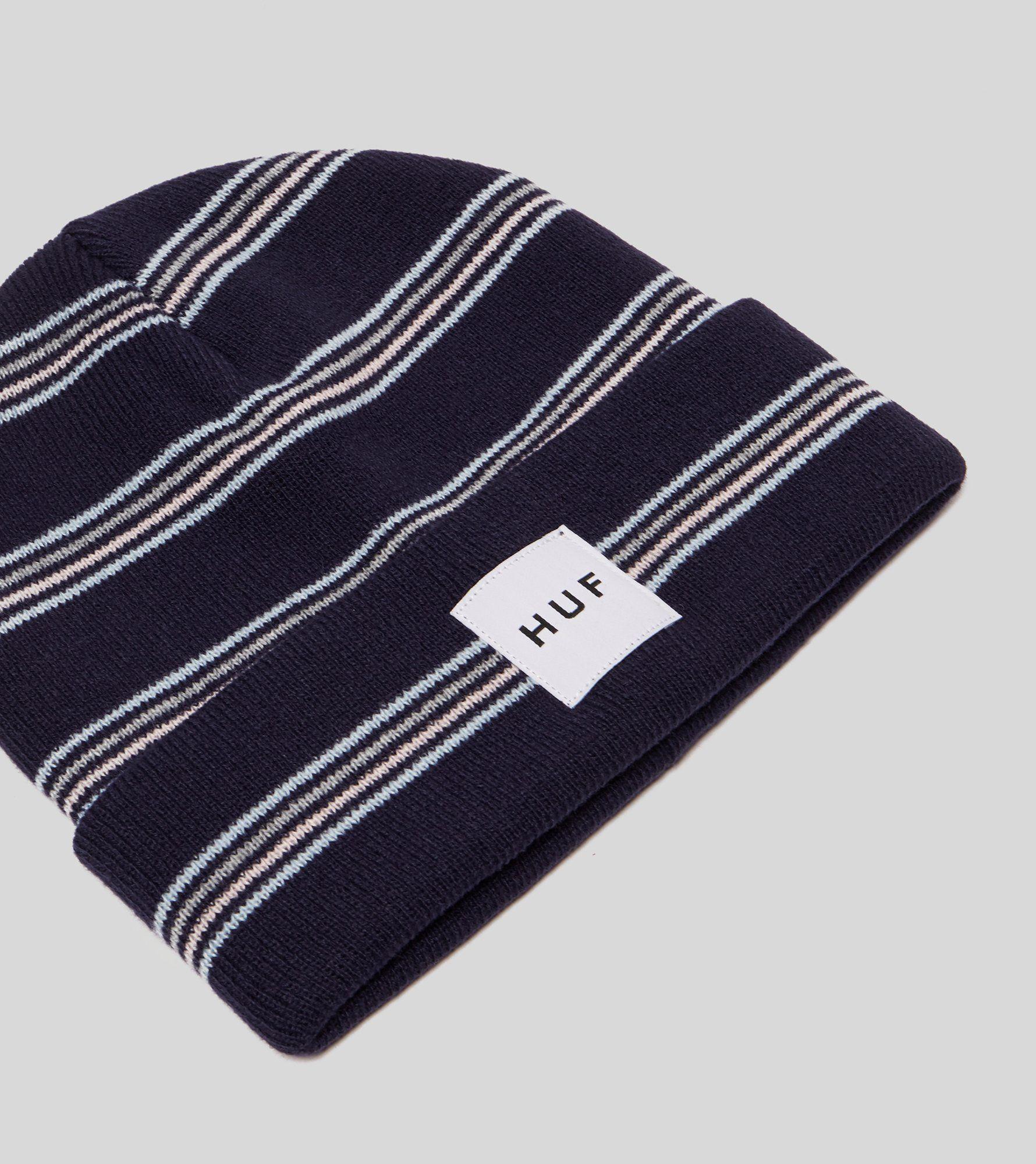 HUF Box Label Stripe Beanie
