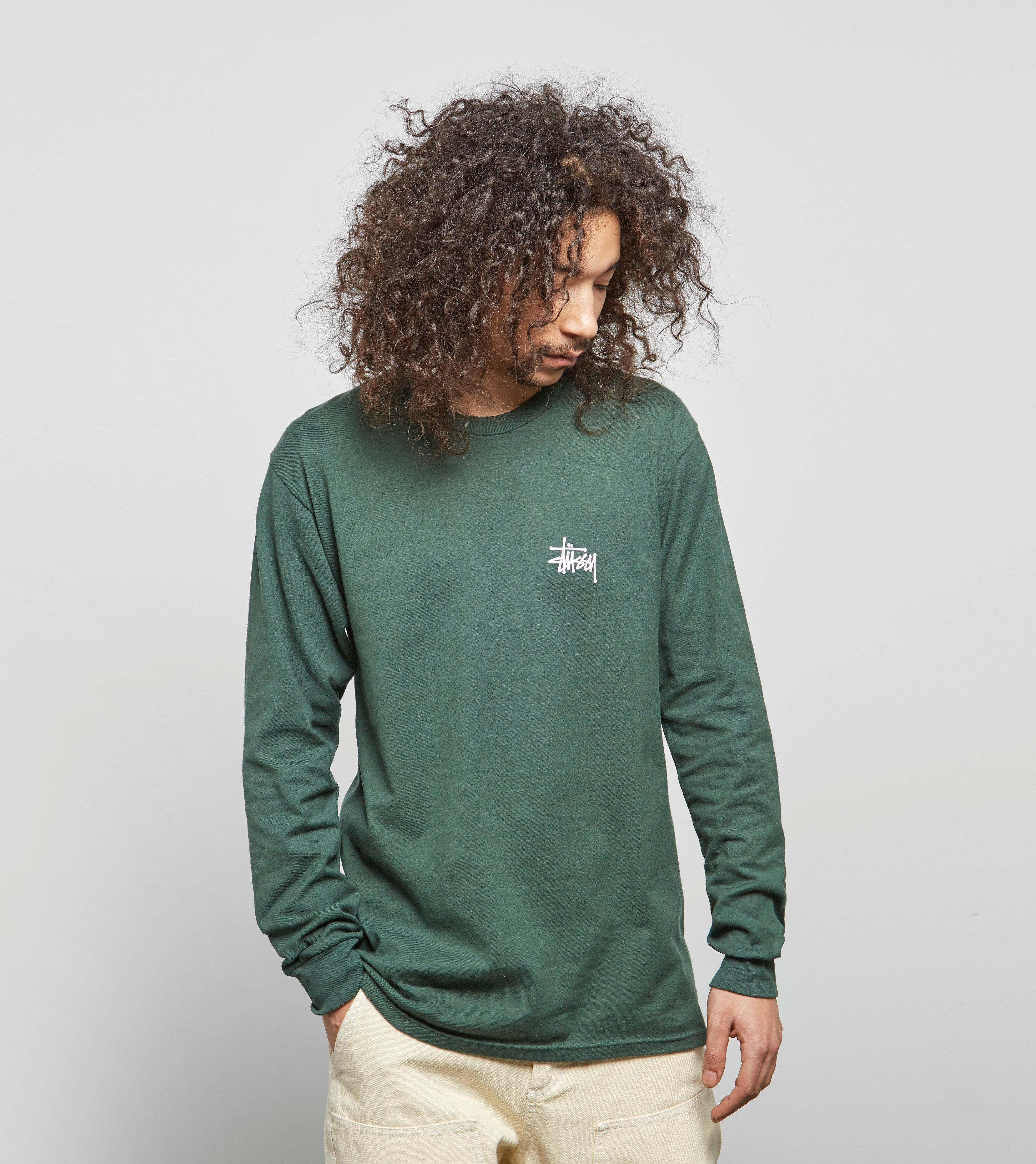 Stussy Basic Logo Long Sleeved T-Shirt
