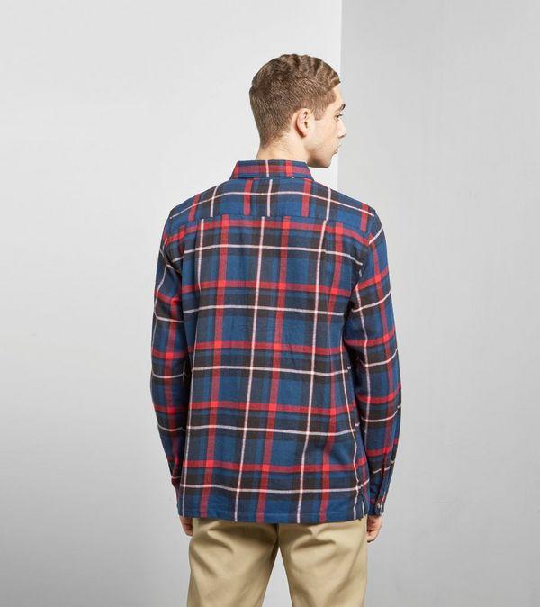 Stussy Big Pocket Flannel Shirt Size