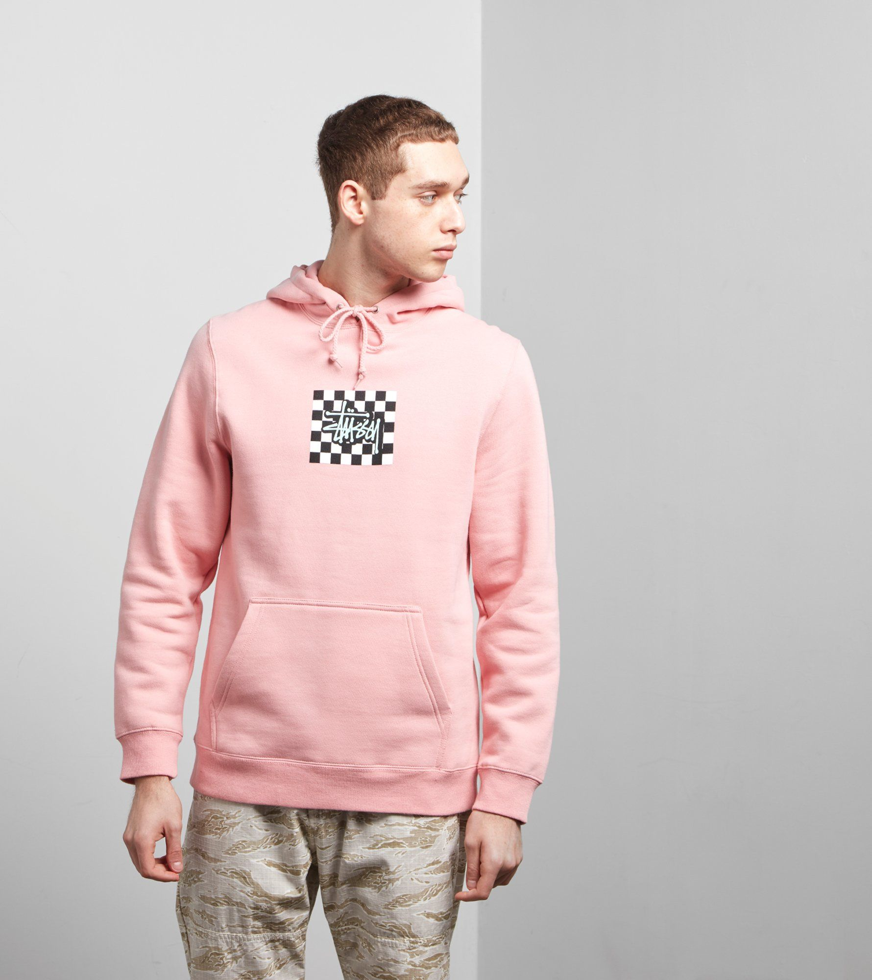 Stussy Sweat à Capuche Checkers