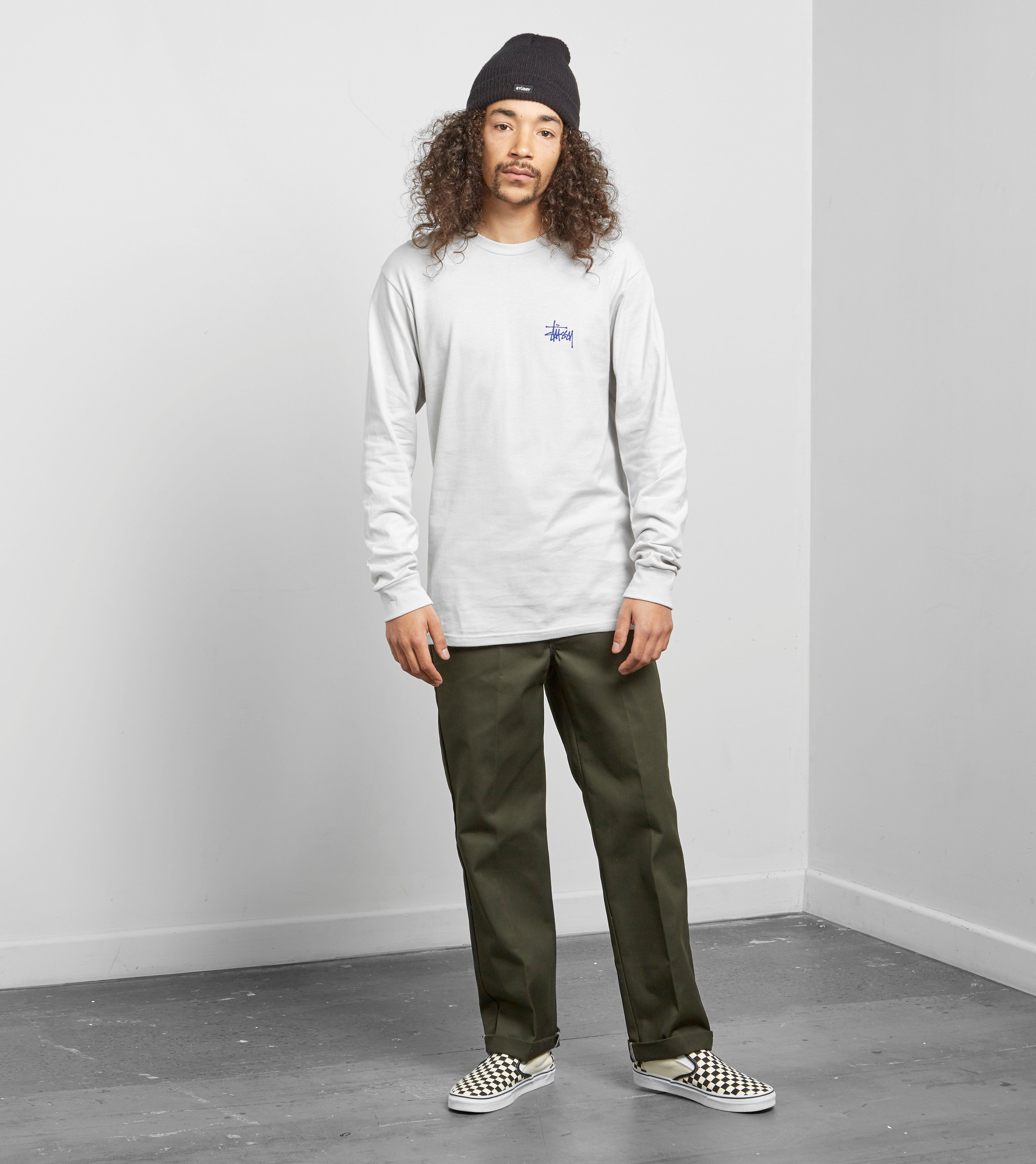 Stussy Basic Logo Long Sleeved T-Shirt