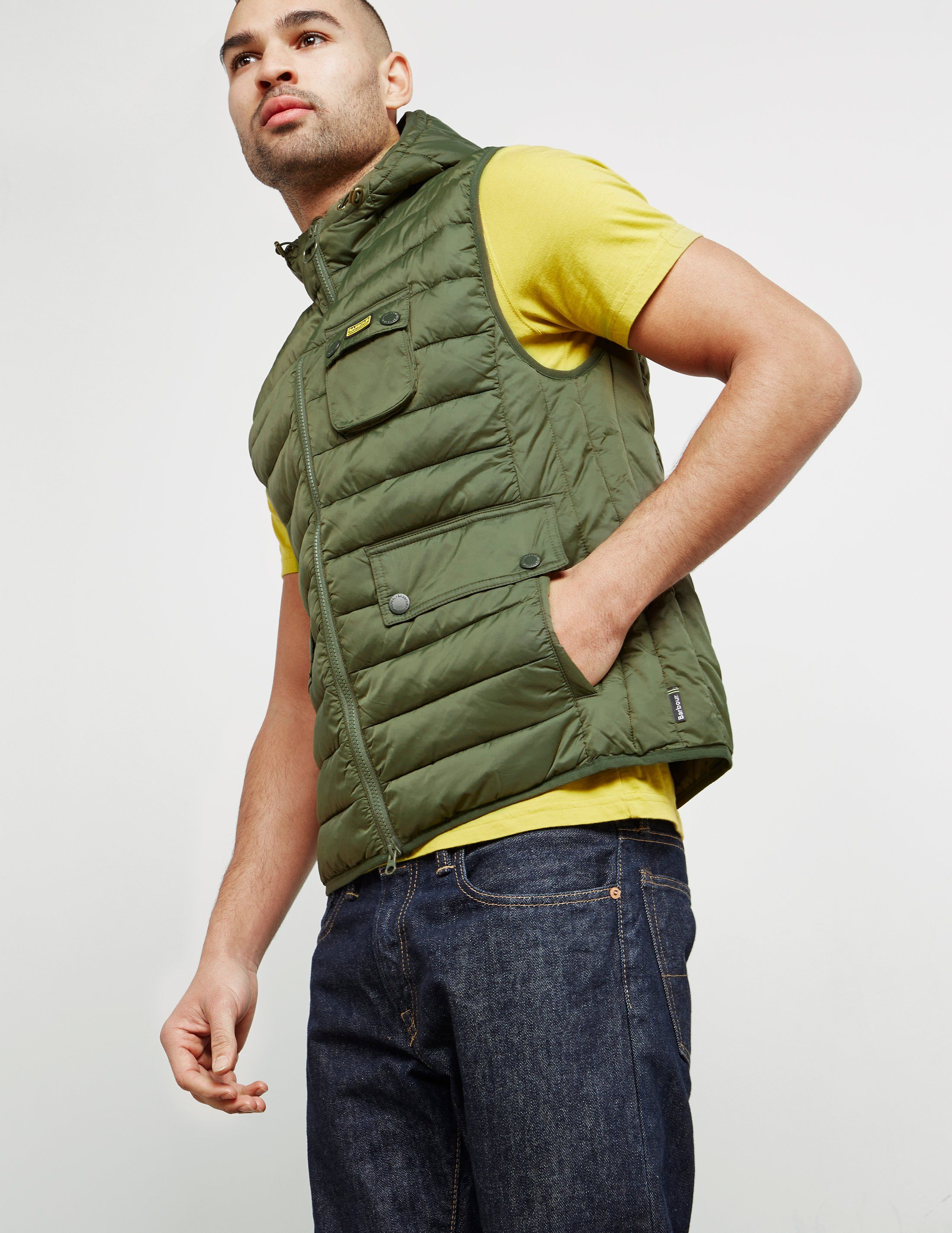 Barbour International Ouston Padded Gilet - Exclusive