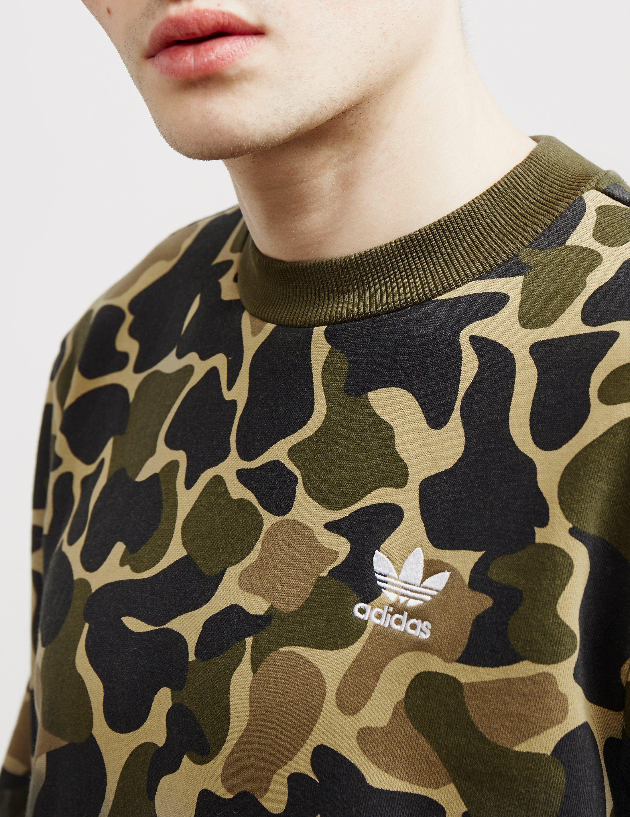 adidas Originals Camo Crew Sweatshirt