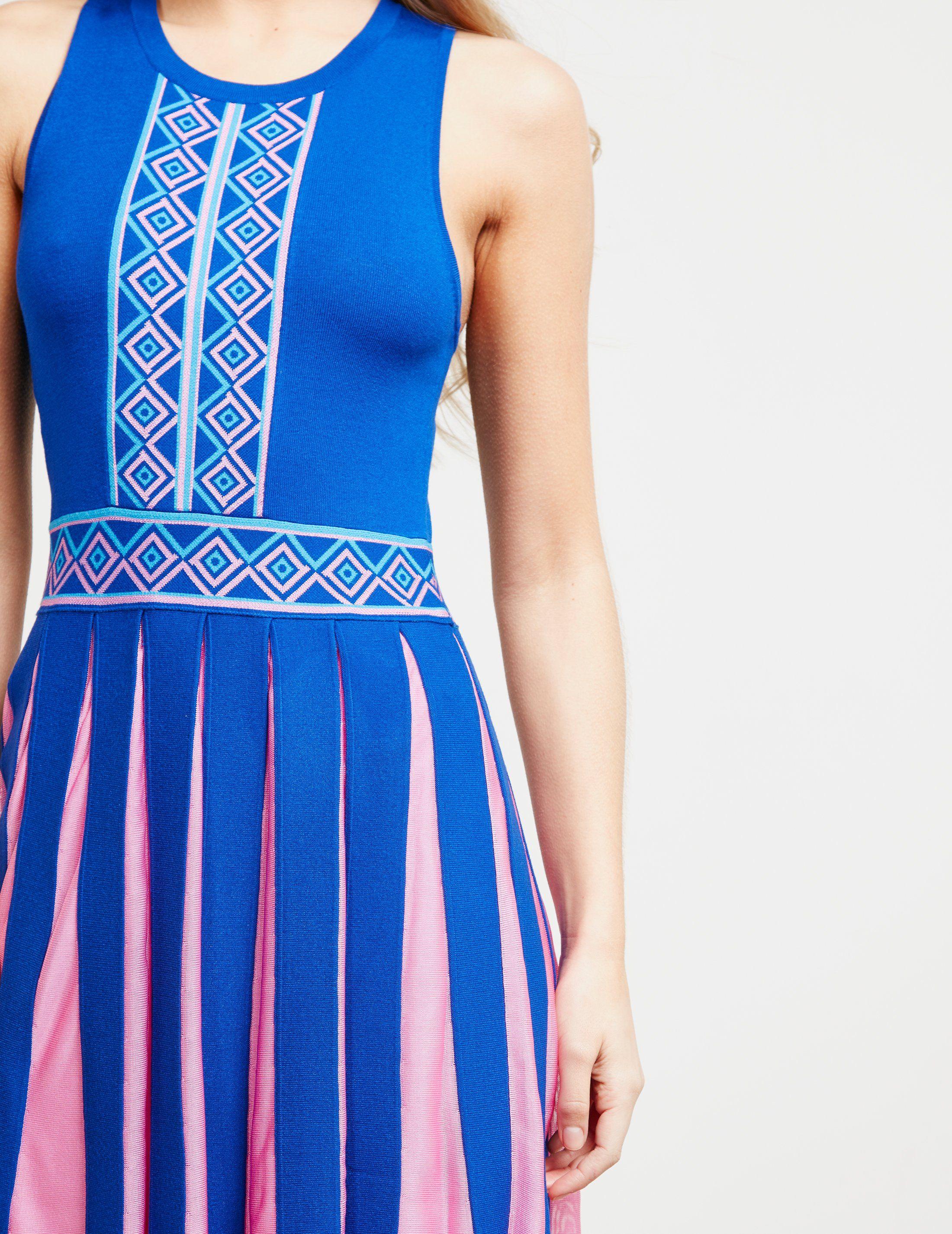 Versace Pleated Dress