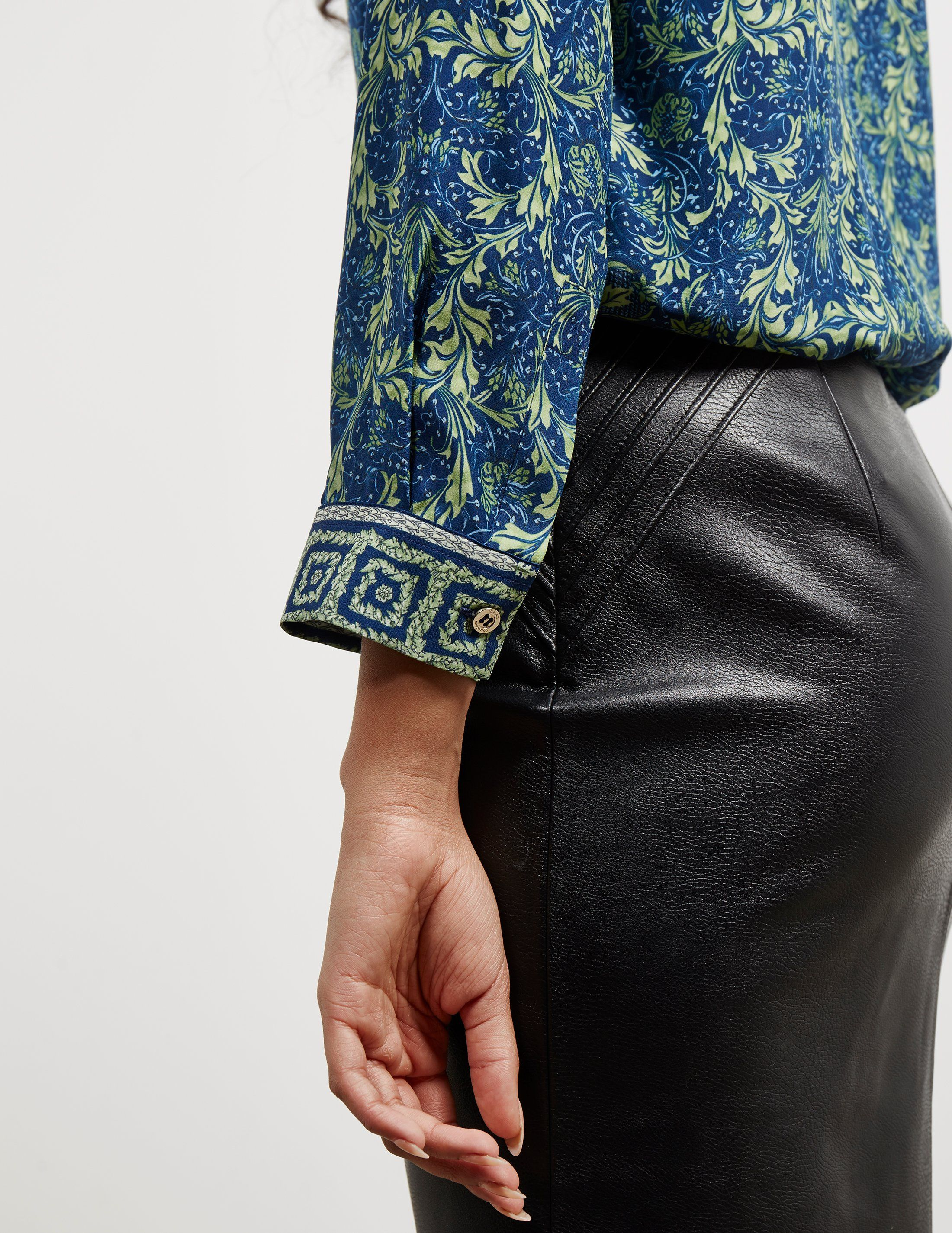 Versace Print Long Sleeve Shirt