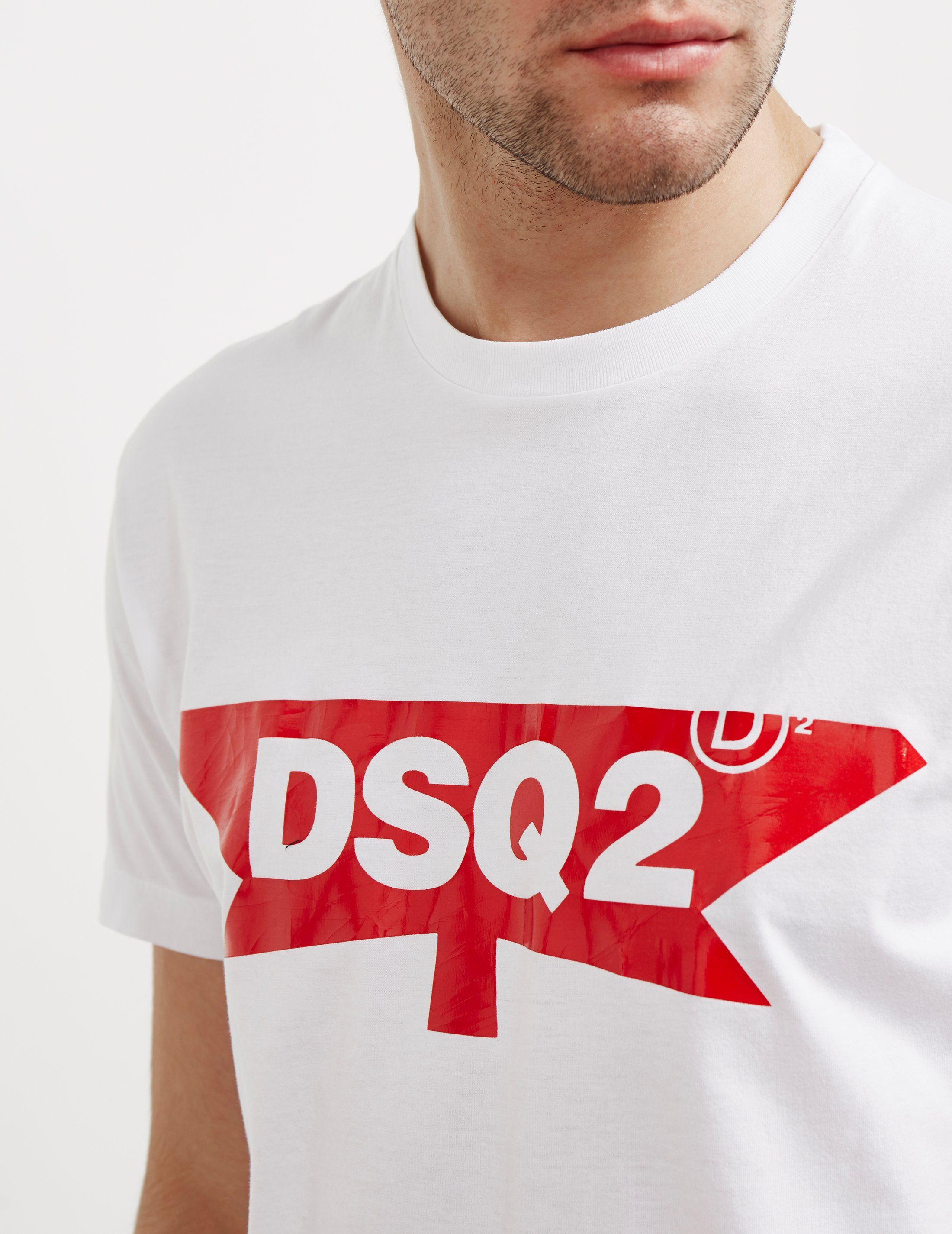 DSQUARED2 Half Maple Short Sleeve T-Shirt