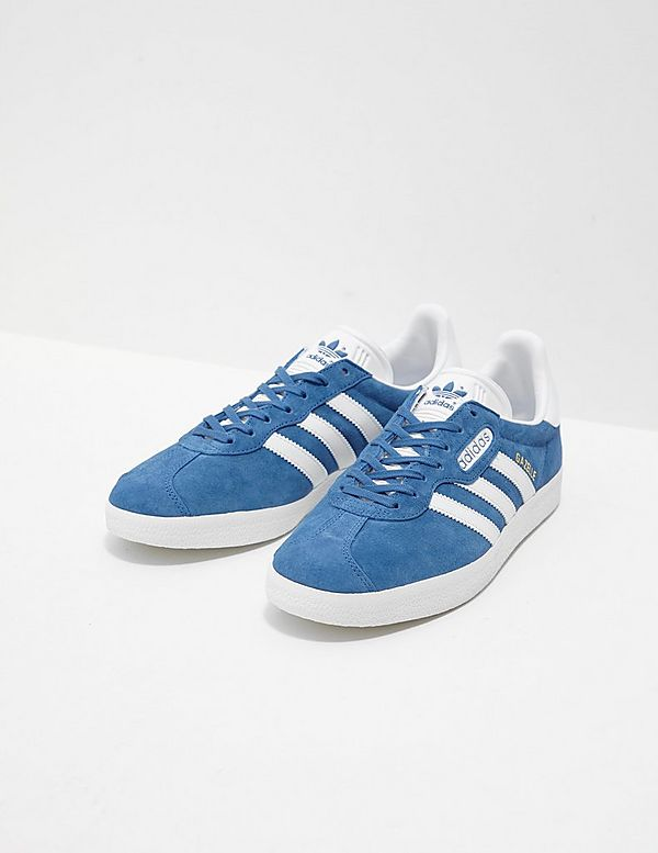 adidas Originals Gazelle Super  Mens Trainers  Blue 008206