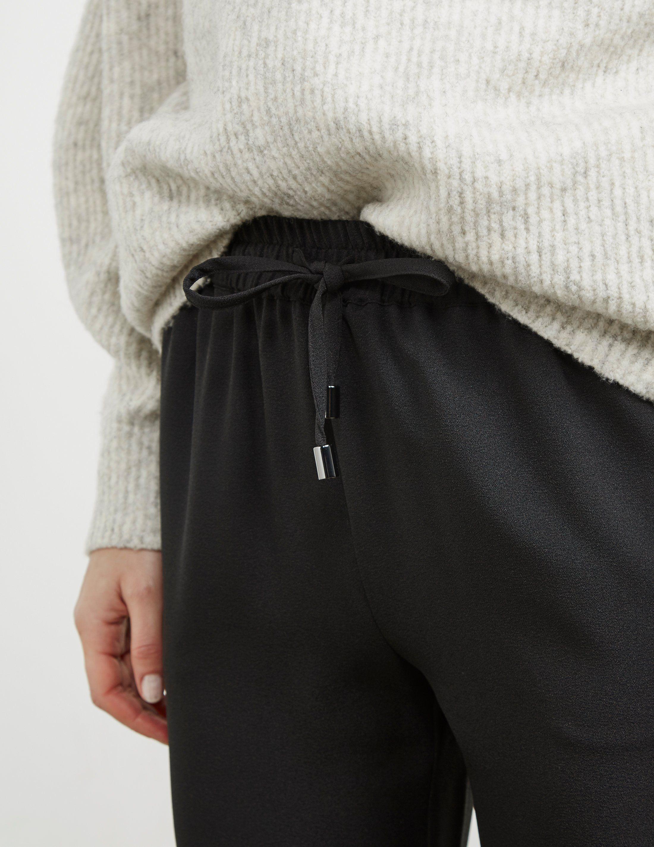 Emporio Armani Chiffon Jogger Trousers
