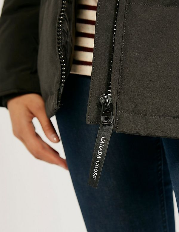 canada goose zipper
